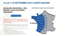 Quasar Concept sera présent aux rendez-vous Business Industries à Saint-Nazaire 22 et 23/09/21 pour présenter son offre en matière de bancs de test et moyens d'essai à destination de l'industrie
